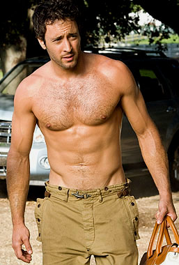 Alex O'Loughlin barechested