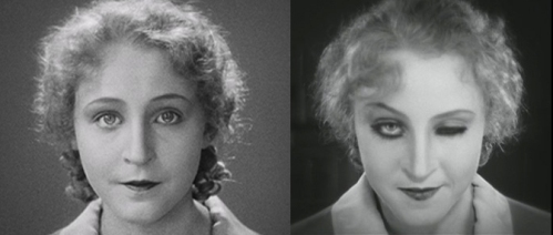 Brigitte Helm as the two very different Marias.