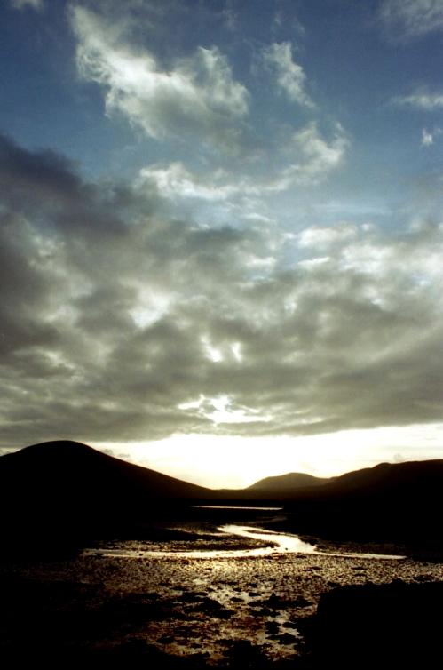 Sunset in County Mayo, Ireland