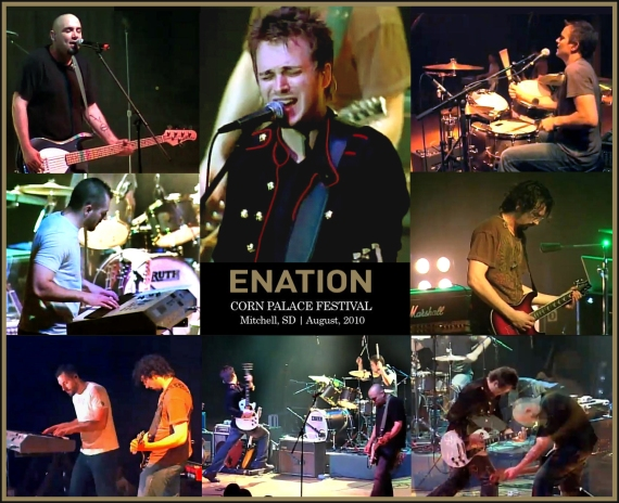 Enation performing Eyes of Grace