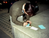 McAvoy signing my autographs