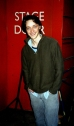 James McAvoy at the Royal Court stage door, 2005