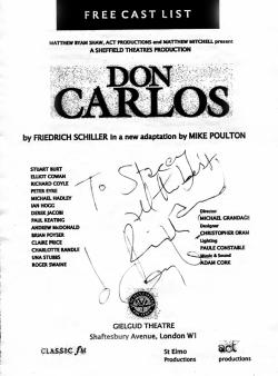 Richard Coyle autograph