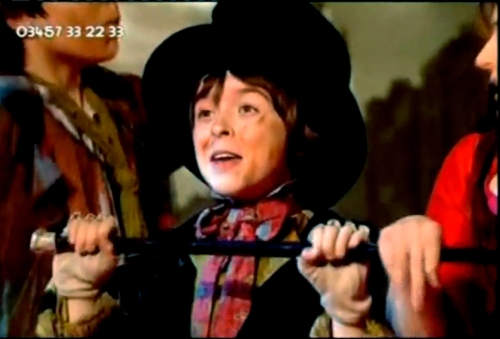 Robert Madge as The Artful Dodger in Oliver!