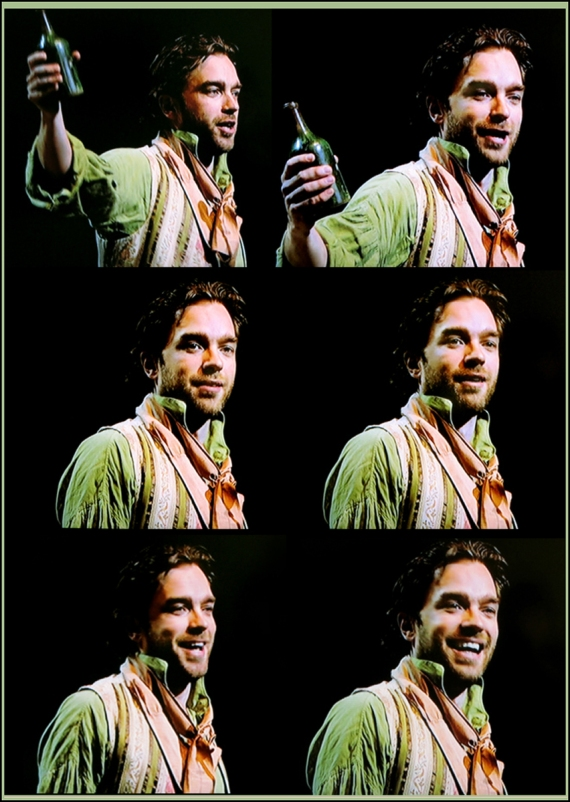 Hadley Fraser as Grantaire, Les Miserables