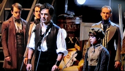 Ramin Karimloo and Robert Madge, Les Miserables 25th Anniversary Concert