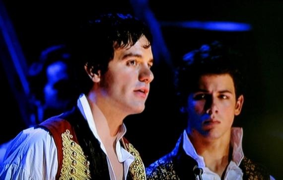 Ramin Karimloo & Nick Jonas, Les Miserables