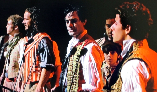 Ramin Karimloo with Robert Madge and ensemble