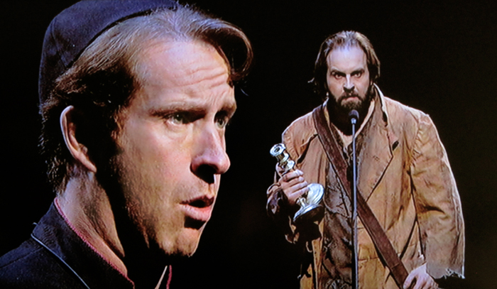 jean valjean and the bishop In the convict and the bishop, why does jean valjean ring the doorbell of the local prison a he wants to speak to some of the people he was once imprisoned with b.