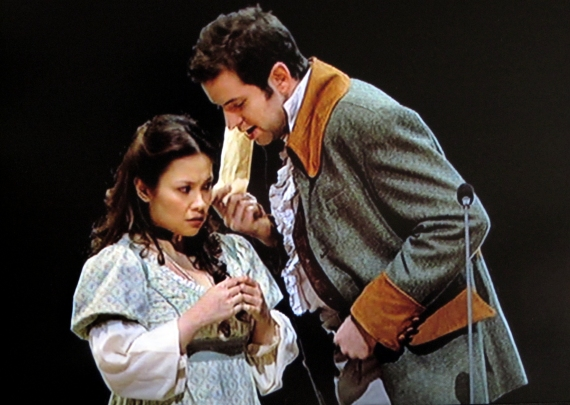 Lea Salonga as Fantine and Jeff Nicholson, Les Miserables
