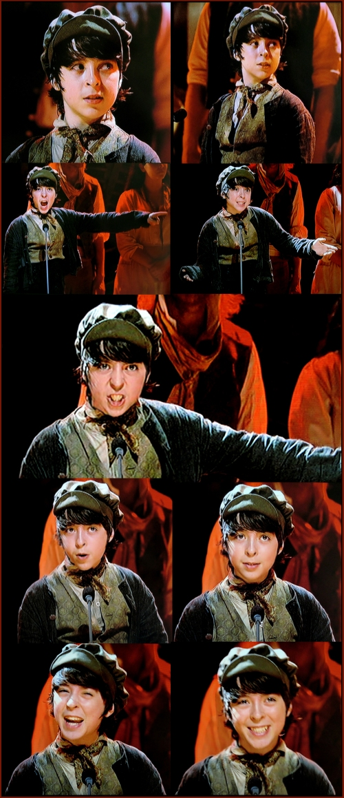 Robert Madge as Gavroche, Liar!, Les Miserables