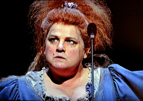 Madame Thenardier (Jenny Galloway) in Les Miserables
