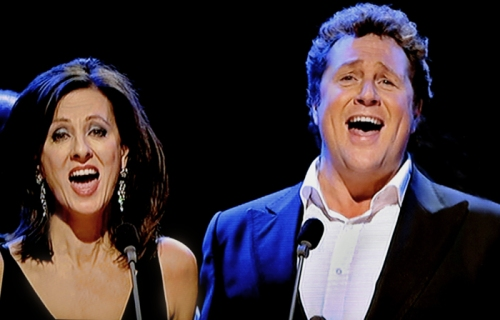 Michael Ball and Rebecca Caine
