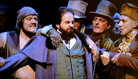 Alfie Boe, Valjean and Gang, Les Miserables