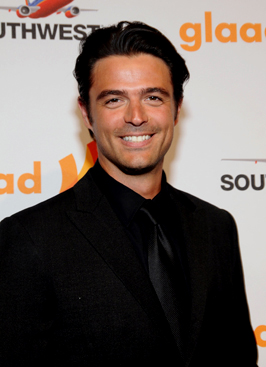 John Gidding, designer and host of HGTV's Curb Appeal: The Block.  Photo by Araya Diaz/WireImage.com.  All rights reserved.