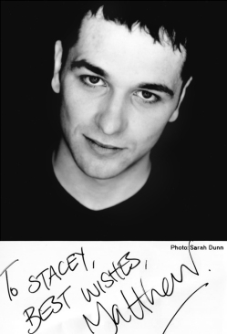 Matthew Rhys autographed photo