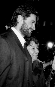 Hugh Jackman at Carnegie Hall stage door