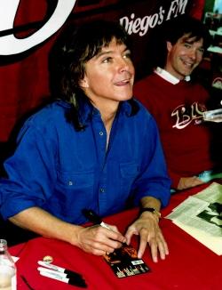 David Cassidy, summer 1990