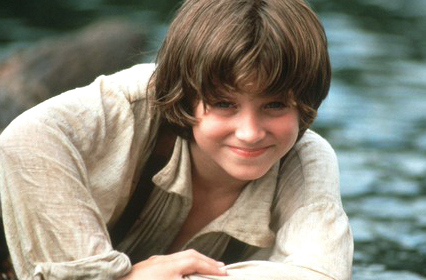 Elijah Wood as Huck Finn