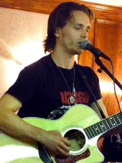 Jonathan Jackson performing
