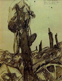Chemin des Dames Assault 1917 by Luc Albert Moreau