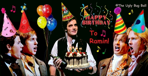 Ramin's Les Miserables Birthday Party