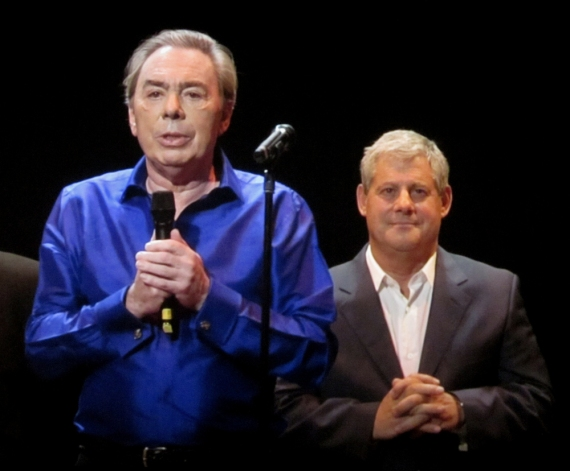 Andrew Lloyd Webber and Cameron Mackintosh