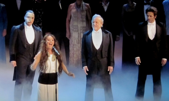 Ramin Karimloo, Sarah Brightman, Colm Wilkinson and Peter Jöback