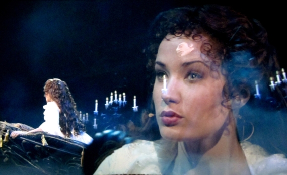 Christine (Sierra Boggess) in boat