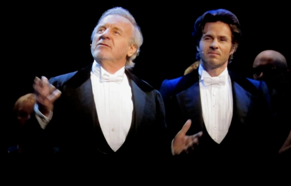 Colm Wilkinson and Peter Jöback
