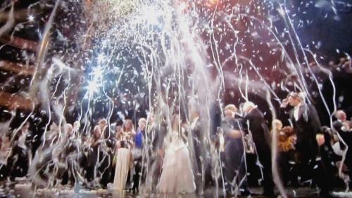 Confetti finale