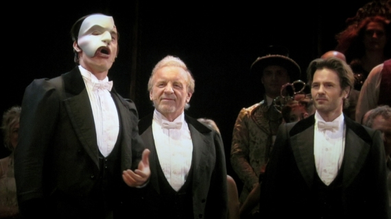 Ramin Karimloo, Colm Wilkinson and Peter Jöback