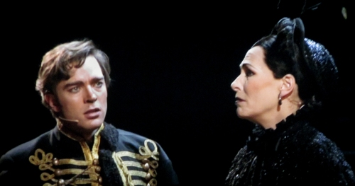 Raoul (Hadley Fraser) & Madame Giry (Liz Robertson)