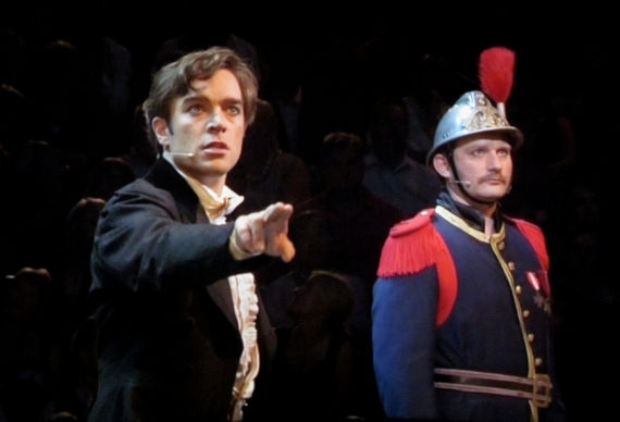 Hadley Fraser as Raoul, The Phantom of the Opera