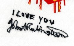 John Rubinstein's autograph