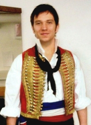 Scott Garnham as Enjolras