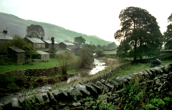 Yorkshire river, Swaledale, North Yorkshire