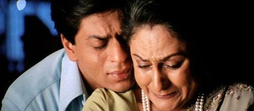 K3G: Shah Rukh Khan and Jaya Bachchan