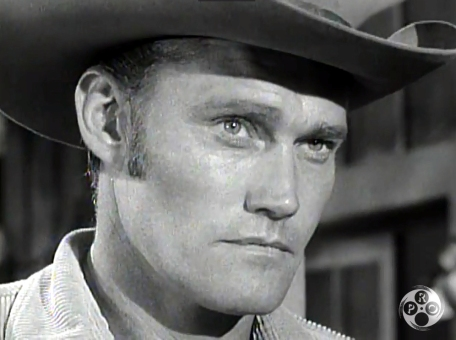 Chuck Connors as Lucas McCain in The Rifleman