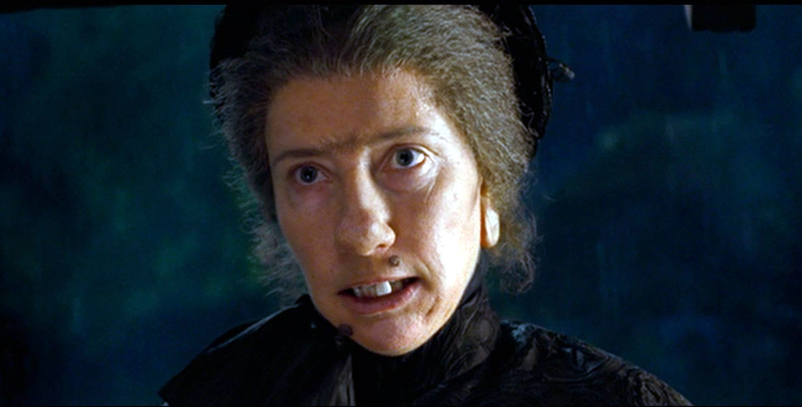 Who's that at the door? It's Emma Thompson as Nanny McPhee