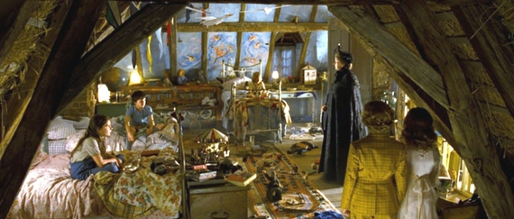 Nanny McPhee: the kids room