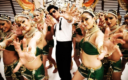 Ra.One dance number with Shah Rukh Khan