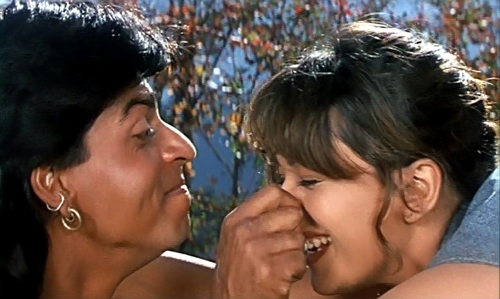 Shah Rukh Khan and Madhuri Dixit, Koyla