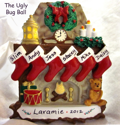 Laramie Christmas ornament