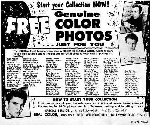 Star Photo Ad