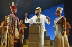 Ramses (Jason Gotay) Hotep (Will Mann) & Nefertari (Jamila Sabares-Klemm)