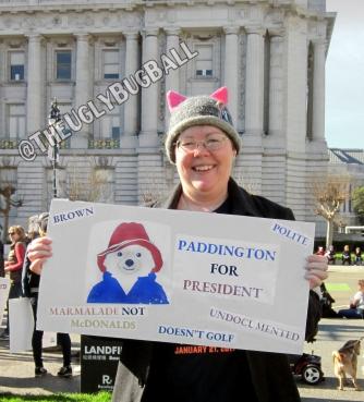 I'm campaigning for Paddington!