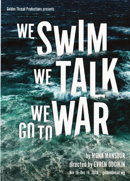 We Swim We Talk We Go To War